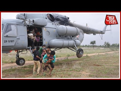 20 Air Force Choppers Deployed For Rescue Operations In Gujarat