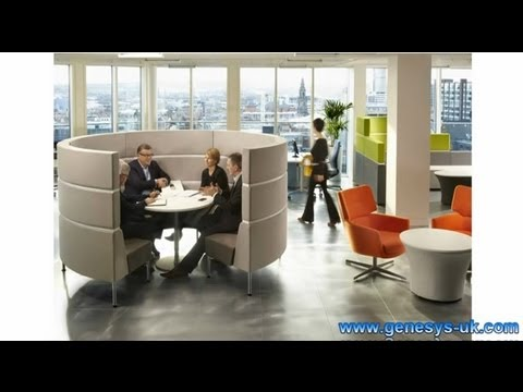 Hive Three Soft Seating - Hive 3 Seating Modules - Hive.Three Meeting Pods