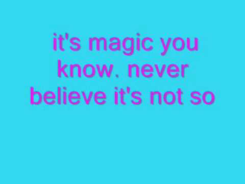Magic : Pilot with lyrics