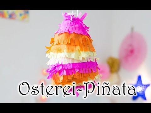 Osternest Alternative Bunte Osterei Piñata Selber Basteln Zu Ostern