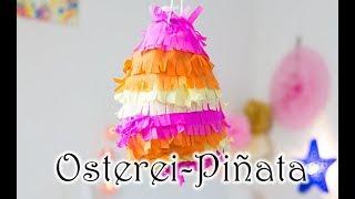 Osternest-Alternative - bunte Osterei-Piñata selber basteln zu Ostern