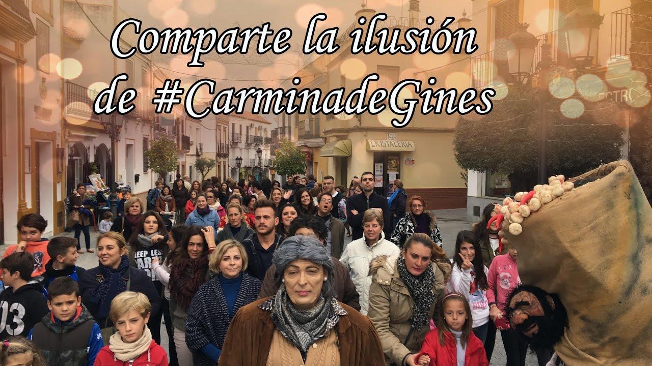 #CarminadeGines - Anuncio del Mercado Medieval y Navideño de Gines 2016