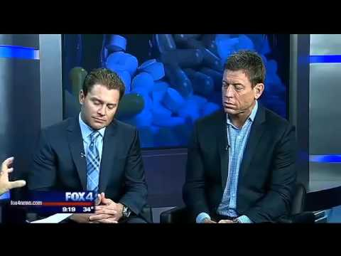 Troy Aikman, Logan Stout on the supplement industry