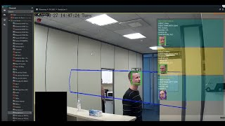 Safety during the Pandemic - Ganz CORTROL Face Recognition + Thermal Cameras Working Together