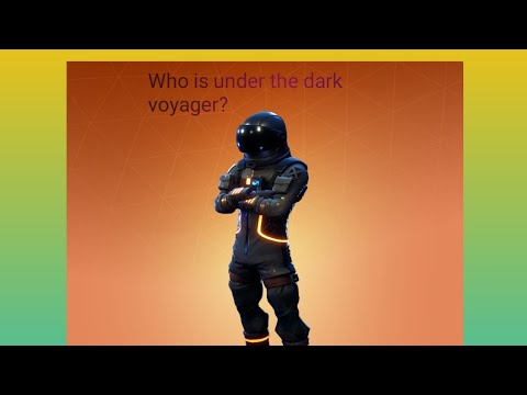 Who is under the dark voyager.