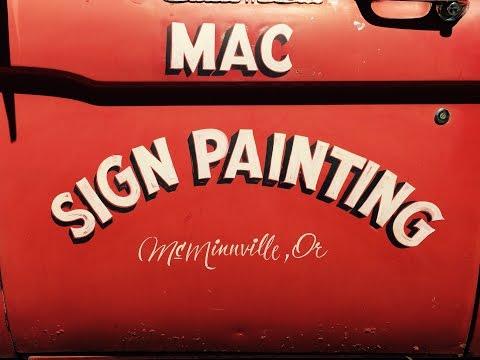 Hand-Eye Supply Curiosity Club Presents Colt Bowden: Mac Sign Painting