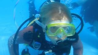 PADi Bubblemaker scuba diving experience for kids!