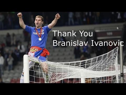 THANK YOU BRANISLAV IVANOVIC | GOOD LUCK AT ZENIT 2017! | CHELSEA LEGEND!