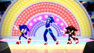 MMD:Hatsune Miku(初音ミク) & Sonic The Hedgehog ~ Electric Angel ~