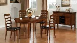Jonas Oval Dining Room Collection From Coaster Furniture