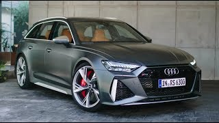 2020 Audi RS6 - NEW FULL REVIEW Interior Exterior Details