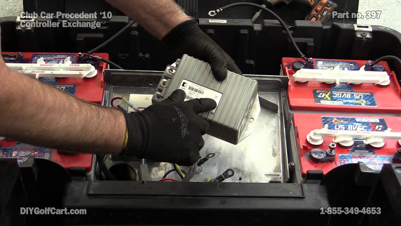 How to Replace your Controller on a Club Car Precedent  YouTube
