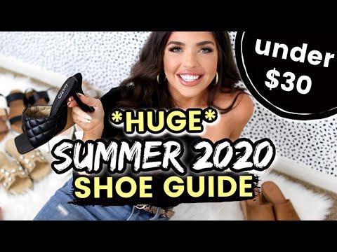 SUMMER 2020 SHOE GUIDE | Walmart, Target, DSW Haul | Affordable Summer Fashion | Designer Dupes