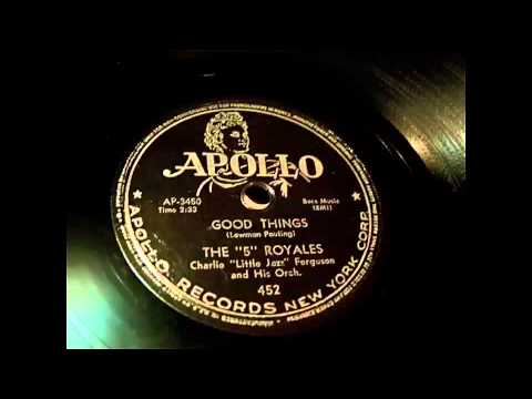 The 5 Royales - Good Things & I Do 78 rpm!