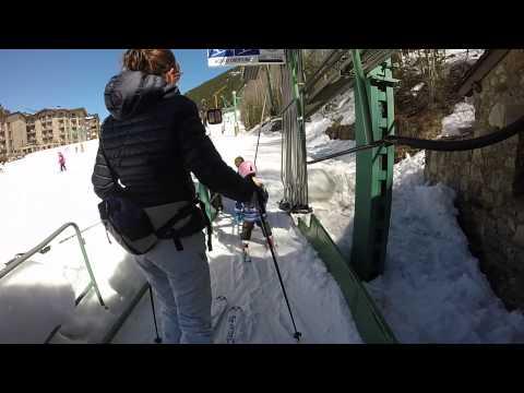 Esqui En Parador Canaro (Andorra)