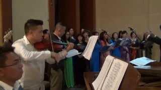 Tán Tụng Hồng Ân - Ca Đoàn Thánh Linh - CĐ Phêrô Torrance 2015