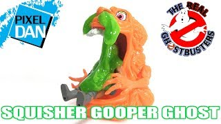 Ghostbusters Squisher Gooper Ghost Kenner Slime Figure Video Review