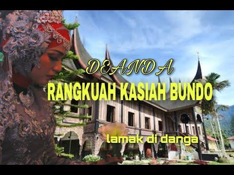 LAGU MINANG TERBARU DEANDA - RANGKUAH KASIAH BUNDO