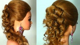 . Wedding prom hairstyle tutorial