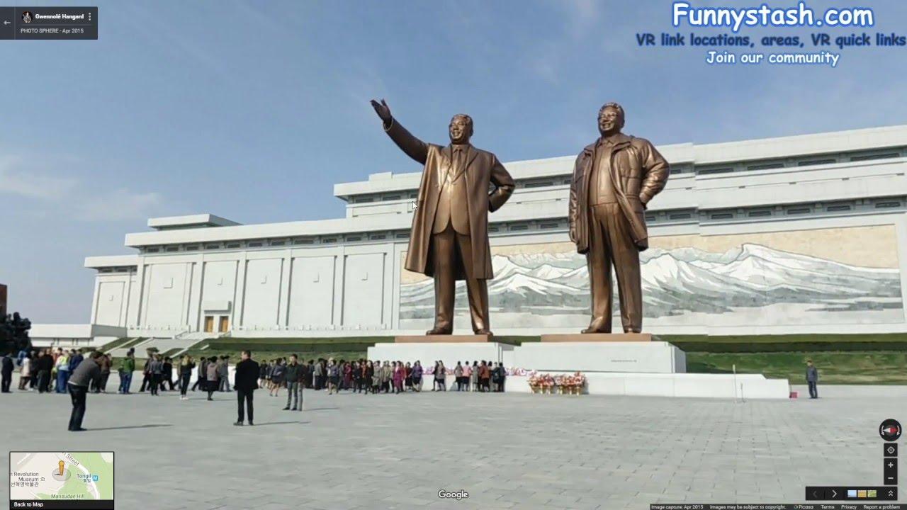 North Korea Google Maps YouTube - Google map us base korea