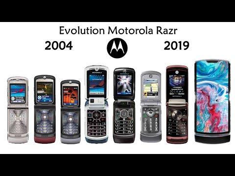 Evolution Of Motorola Razr