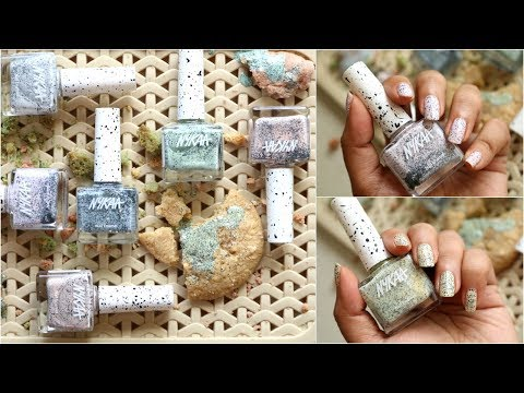 Nykaa Cookie Crumble Nail Enamel Collection | corallista