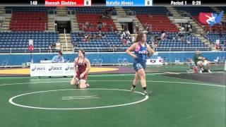 Fargo 2012 148 Round 5: Hannah Gladden (Alabama) vs. Natalia Hinojo (Texas)