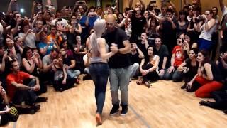 Видео: Kizomba Workshop by Albir and Sara at Feeling Kizomba Festival 2012, Madrid