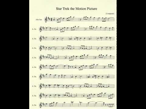Mp3tunes star trek the motion picture for alto sax