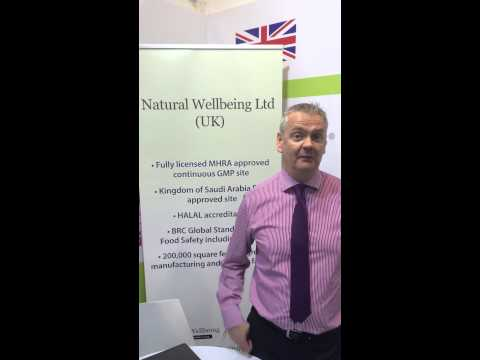 Natural Wellbeing at Arab Health 2015
