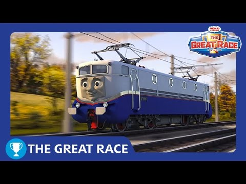 The Great Race: Etienne of France | The Great Race Railway Show | Thomas & Friends