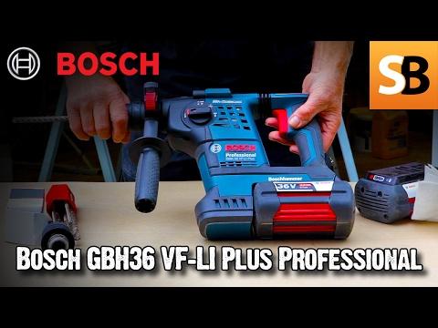 Акумулаторен перфоратор SDS-plus BOSCH GBH 36 VF-LI Plus #4ZEJg6ETG84