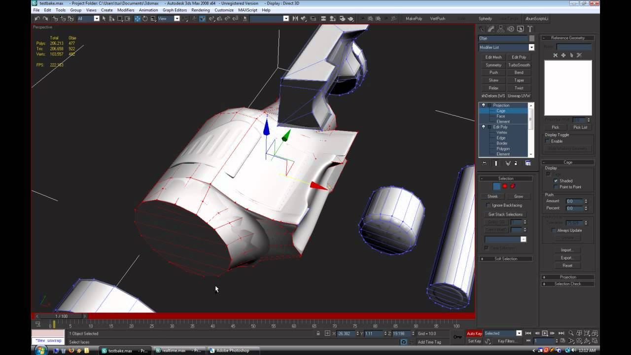 TUT](3dsMAX) Render to Texture - A Powerful tool