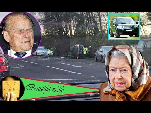 Prince Philip revealed the queen is the driver that caused him to be hospitalized for a car trouble