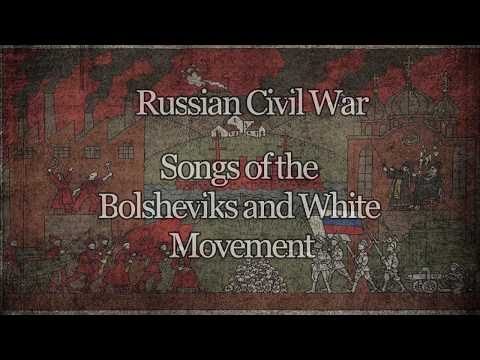 1 Hour of Russian Civil War music (Red & White marches)