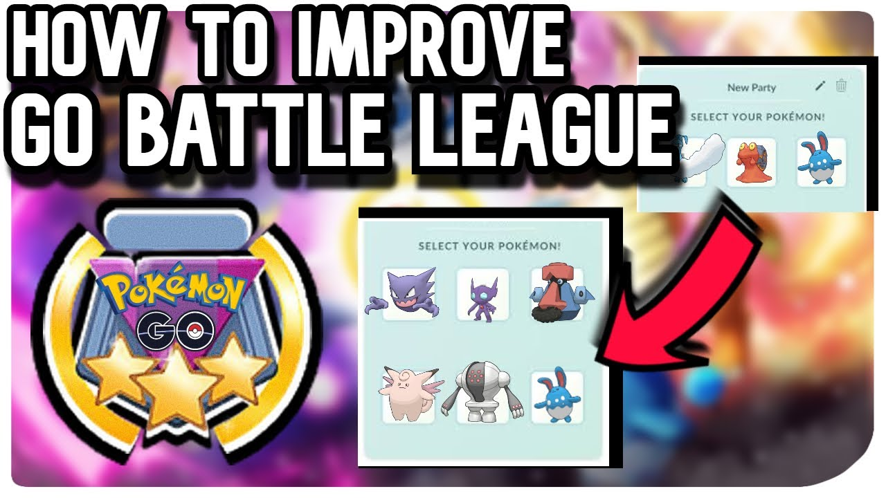 HOW TO IMPROVE GO BATTLE LEAGUE | POKEMON GO PVP
