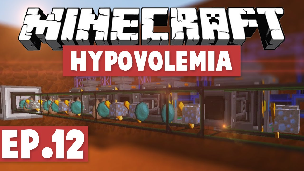 Minecraft Hypovolemia - AE2 AUTOCRAFTING! #12 [Modded HQM Pack] by Gaming  On Caffeine