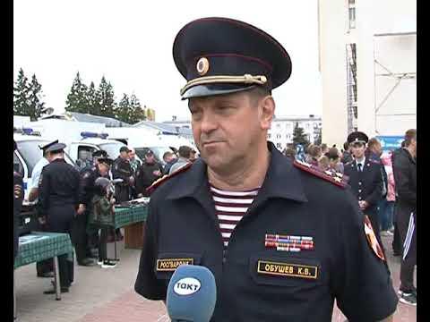Курская полиция отметила 101 День рождения