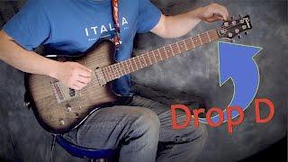 видео Как настроить электрогитару в стандартный и пониженный строй
