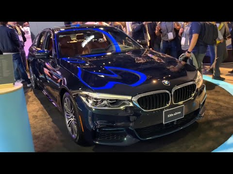 CES  FIRST LOOK  BMW E IPERFORMANCE HYBRID WITH AMAZON ALEXA INTEGRATED SOFTWARE