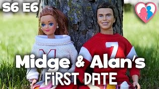 s6 e6 midge alan s first date   the barbie happy family show