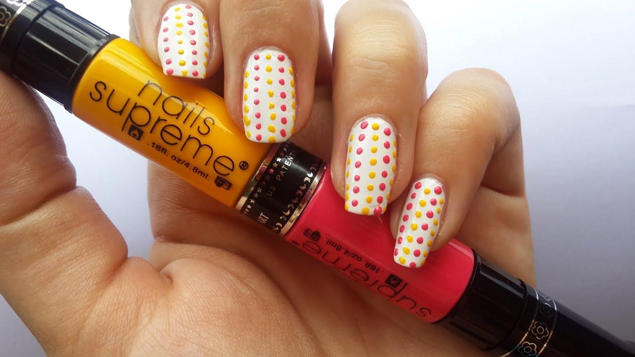 Diseo de puntos de primavera nails supreme nail art pens youtube prinsesfo Image collections