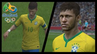 FIFA REMAKE: Neymar Jr. - Fantastic Free Kick Goal vs Germany | Final Rio 2016 | by Pirelli7