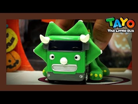 "The ""Big"" Dinosaur l Tayo's Toy Adventure #13 l Tayo the Little Bus"