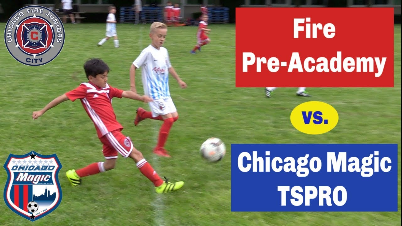 Youth Soccer Game Highlights Chicago Fire Pre Academy Vs