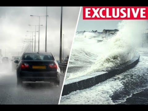 UK weather forecast 3 storm blitz to BLAST Britain this autumn