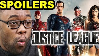 JUSTICE LEAGUE SPOILER TALK - Movie Spoilers Review | Andre Black Nerd