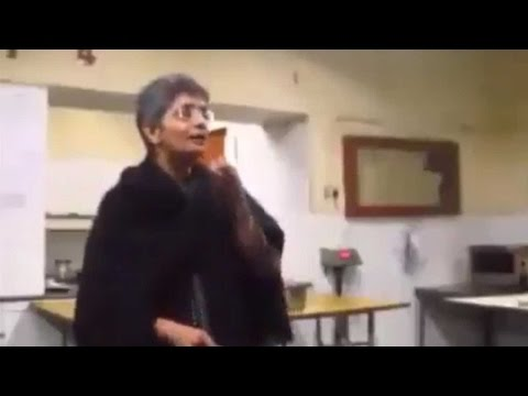 "JNU Prof tells students ""Hindu Society"" is the most violent society in world"