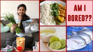 HOW DOES AN NRI HOUSEWIFE SPENDS DAILY LIFE ?? NRI HOUSEWIFE DAILY ROUTINE || VEG LUNCH PREPARATION