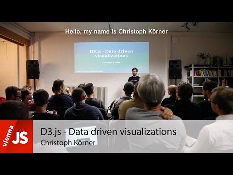 D3.js - Data driven visualizations